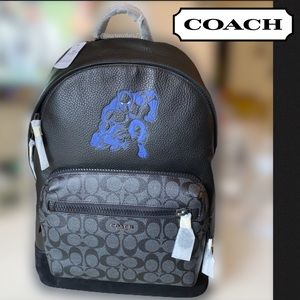 ❗️LAST ONE❗️ COACH Black Panther Backpack MARVEL